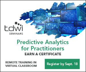 TDWI Predictive Analytics for Practitioners